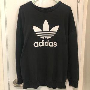 Women adidas crewneck sweatshirt